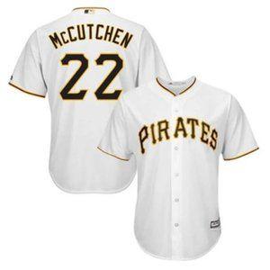 Men's Pirates Andrew McCutchen Majestic Jersey
